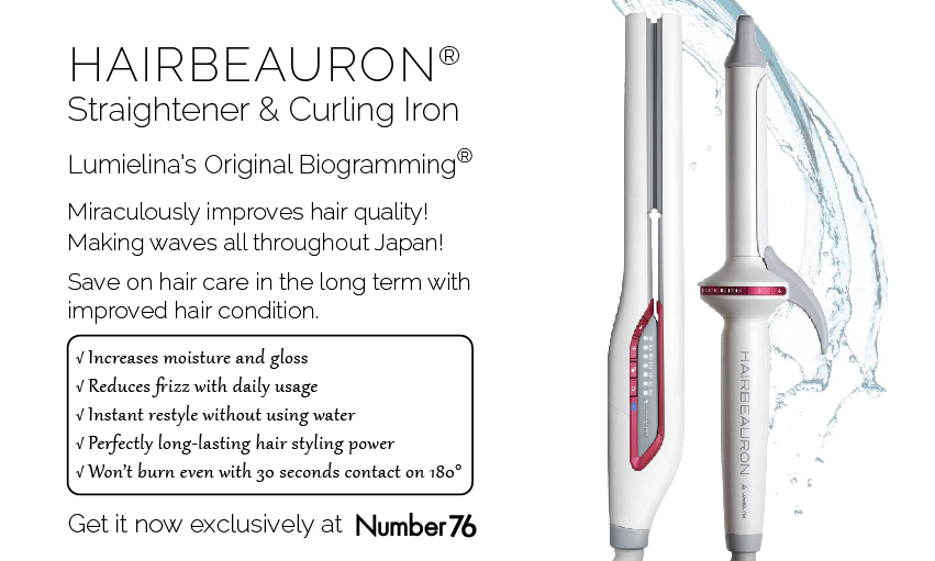 Hairbeauron Curling & Straightening Iron