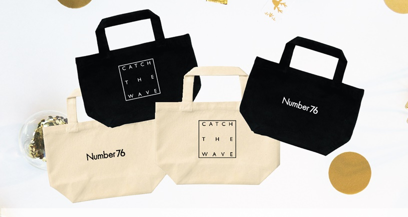 Limited Number76 Totebags from Japan
