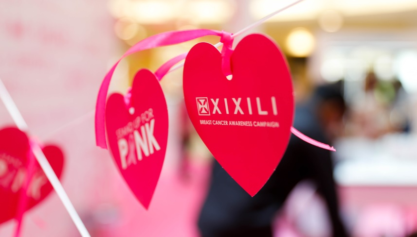 Breast Cancer Awareness with XIXILI Stand Up For Pink 2016