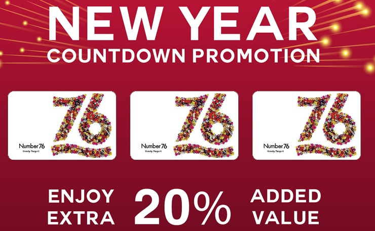 New Year Gift Card Promotion