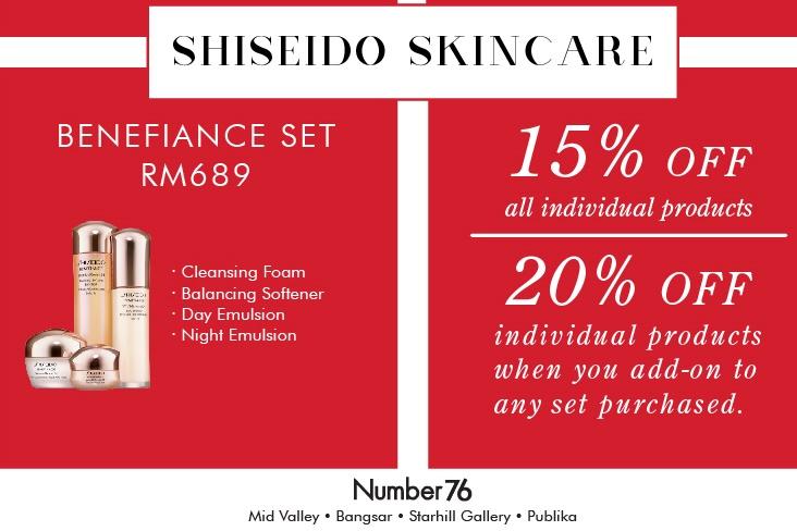 SHISEIDO Skincare Promotion