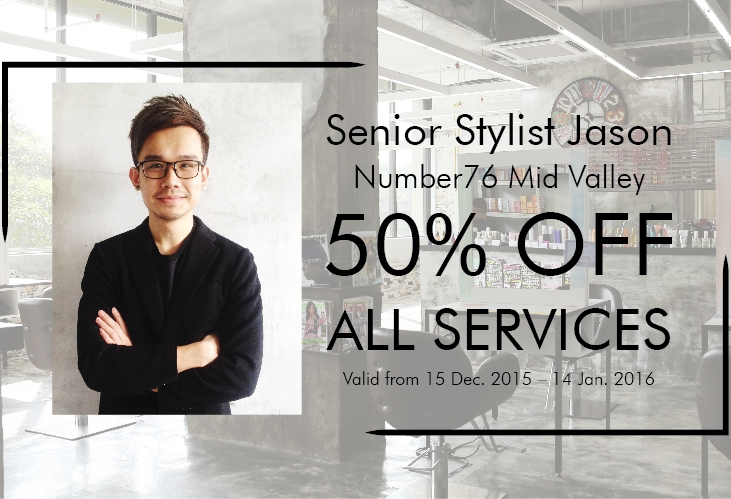 50% OFF ALL SERVICES